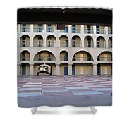 The Citadel In Charleston Iv Shower Curtain