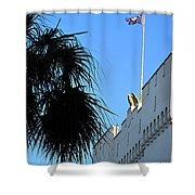 The Citadel In Charleston Shower Curtain
