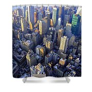 The City II Shower Curtain