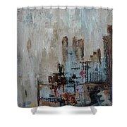 The City Never Sleeps Shower Curtain