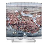 The City Of Boston Shower Curtain