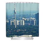The City Of Vienna Austria Shower Curtain