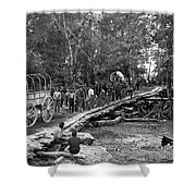 The Civil War: Soldiers Shower Curtain
