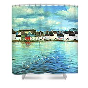 The Claddagh Galway Shower Curtain