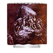 The Clash Of The Titans 1866 Shower Curtain