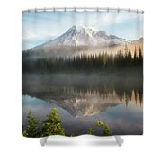 The Clearing Shower Curtain