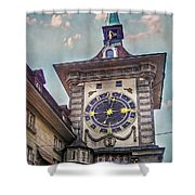 The Clock Of Clocks Shower Curtain