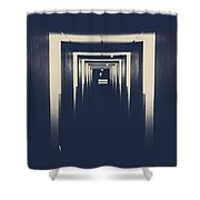 The Closed Doors Shower Curtain