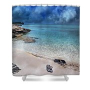 The Cloud Parade Shower Curtain