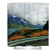 The Clouds Roll In Shower Curtain