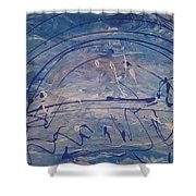 The Clouds,  The Ocean,  The Bridge  Shower Curtain