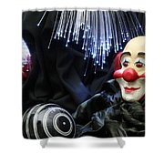 The Clown Shower Curtain