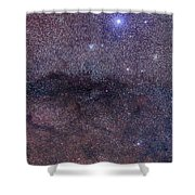 The Coalsack And Jewel Box Cluster Shower Curtain