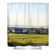 The Codori Barn Shower Curtain