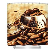 The Coffee Roast Shower Curtain
