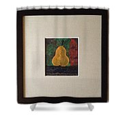 The Cold Accusative Pear Shower Curtain