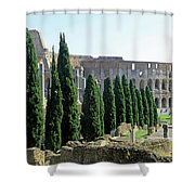 The Coliseum Shower Curtain