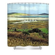 The Colors Of The Bay Shower Curtain