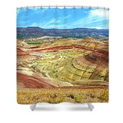 The Colorful Painted Hills In Eastern Oregon Shower Curtain
