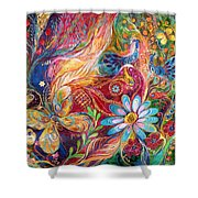 The Colors Of Spring. The Original Can Be Purchased Directly From Www.elenakotliarker.com Shower Curtain