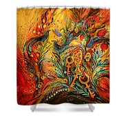 The Colors Of Sunrise Shower Curtain