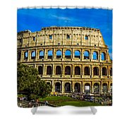 The Colosseum In Rome Italy Shower Curtain