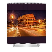 The Colosseum, Rome, Italy Shower Curtain