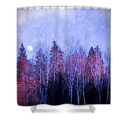 The Colours Of The Moon Shower Curtain