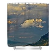 The Columbia Gorge Shower Curtain