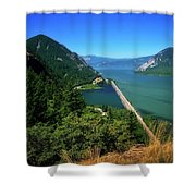 The Columbia Gorge National Scenic Area Shower Curtain