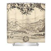 The Combat Of Avigliana Shower Curtain