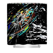 The Comet Shower Curtain