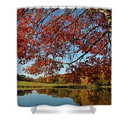 The Comfort Of Autumn Shower Curtain