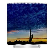 Courtship Of The Seven Sisters Shower Curtain