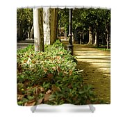 The Coming Of Autumn Shower Curtain