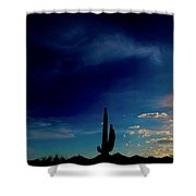 The Coming Of Light Shower Curtain