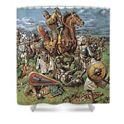The Coming Of The Conqueror Shower Curtain