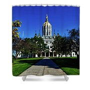 The Connecticut State Capitol Shower Curtain