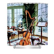 The Conservatory Shower Curtain