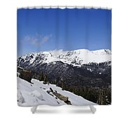 The Continental Divide Shower Curtain