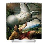 The Conversion Of Saint Paul Shower Curtain