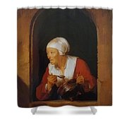 The Cook 1665 Shower Curtain