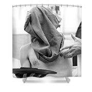 The Cooperate Itch  Shower Curtain