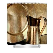 The Copper Pitcher Shower Curtain