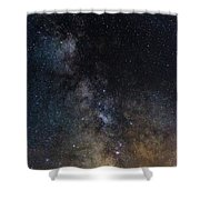 The Core Of The Milky Way Shower Curtain