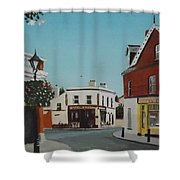 The Corner Note, Dalkey Shower Curtain
