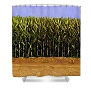 The Cornfield Shower Curtain