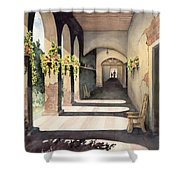 The Corridor 2 Shower Curtain