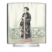 The Costume Of China Shower Curtain