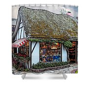 The Cottage Of Sweets - Carmel Shower Curtain